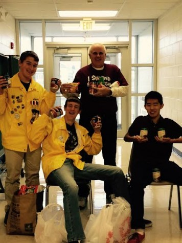 Student Goverment Holds Annual Canned Food Drive