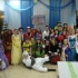 Students dressed up as a multitude of characters to entertain children at the drama department fundraiser. Photo provided by Kimberly Pereboom.