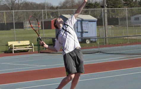 Kennedy vs. Washington Men's Tennis Meet: Photo Story