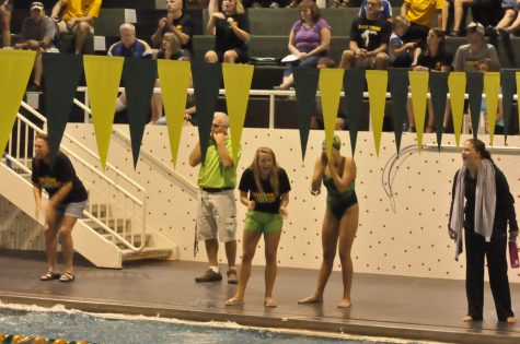 Women's Swimming and Diving Falls to Pleasant Valley