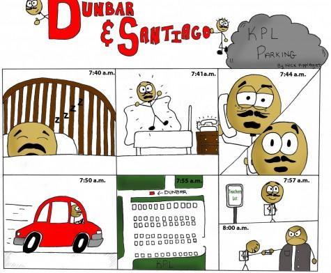 Dunbar and Santiago comic