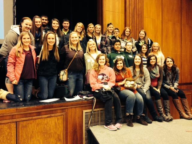 Kennedy Journalism Students Attend IHSPA