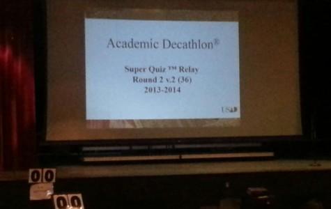 Academic Decathlon team prepares for state