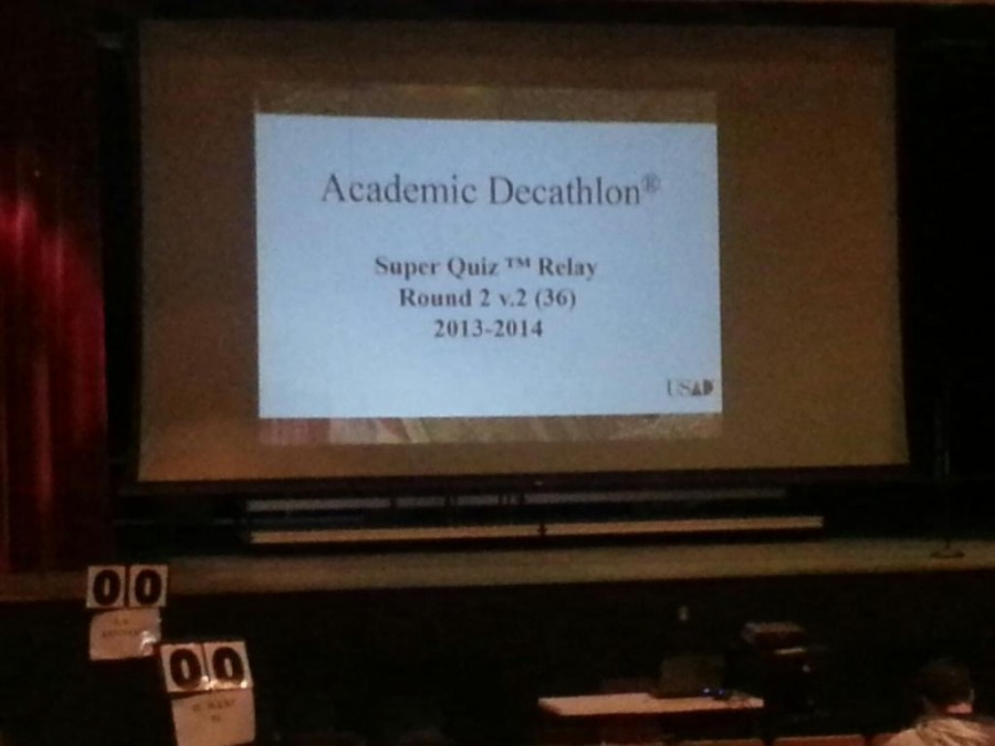 Academic Decathlon team prepares for state