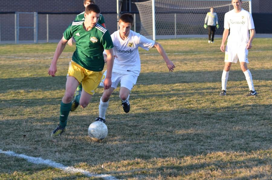 Men's Soccer Vs. Dubuque Hempstead Photos