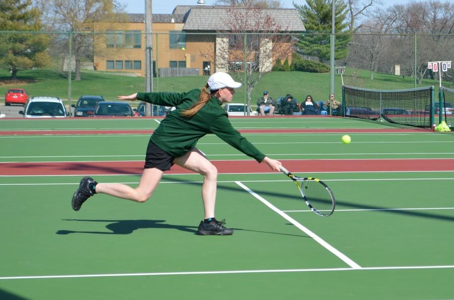 Girls' tennis vs. Jefferson photos