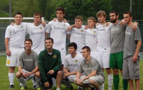 Early lead for men's soccer, but Hempstead catches up
