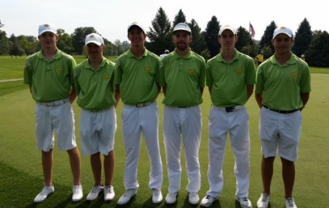 Men's golf swings into state