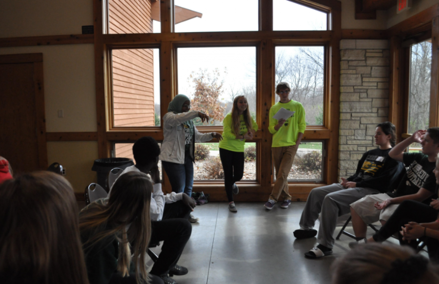 Kennedy students attend Fall Leadership Retreat