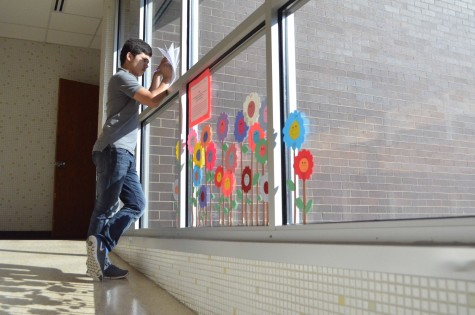 Kara Asmussen's class has created an art showcase. The art created by her students can be found all around Kennedy High School.