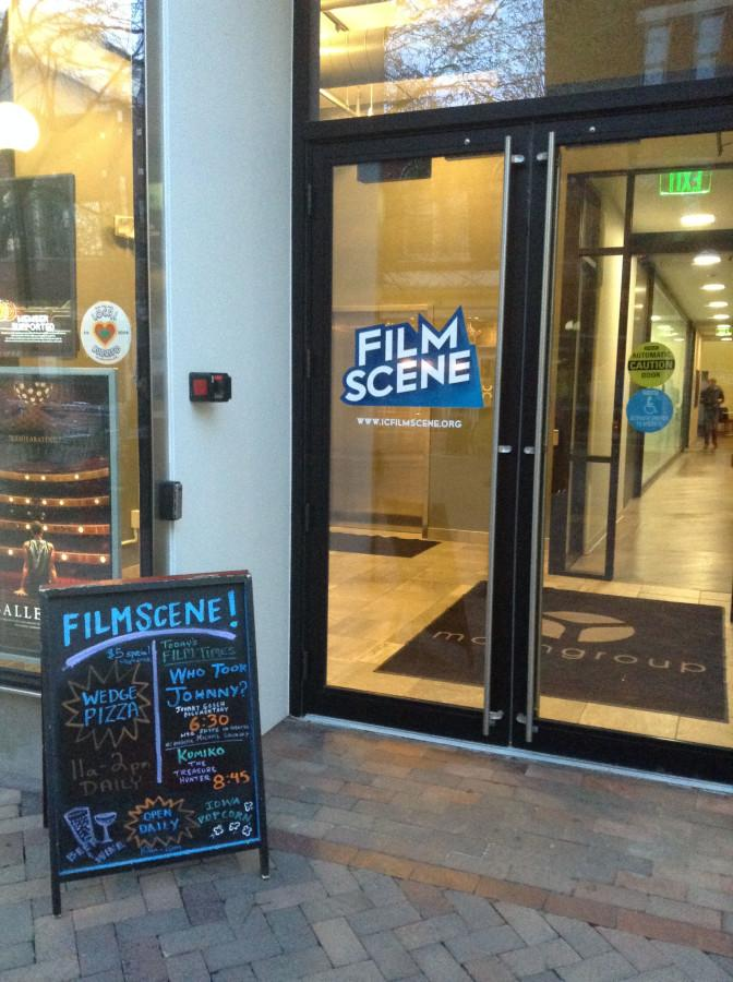 Film+Scene+is+a+non-profit+movie+theater+in+downtown+Iowa+City.