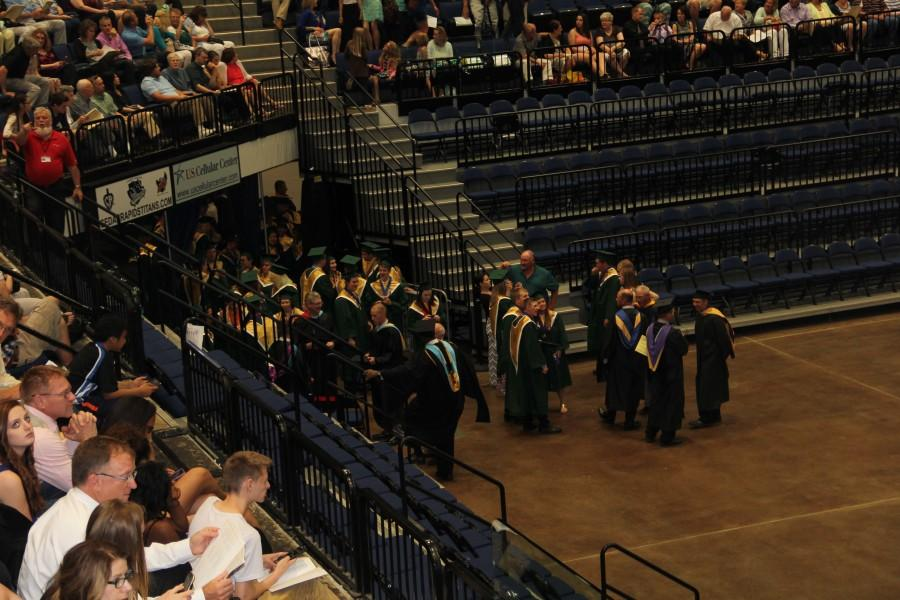 Seniors graduated from Kennedy on May 28.
