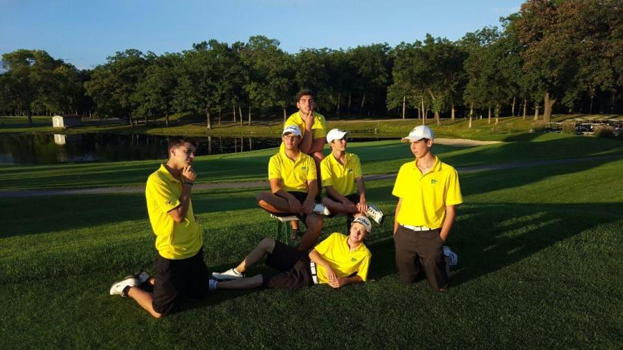 First season win for the men's golf team