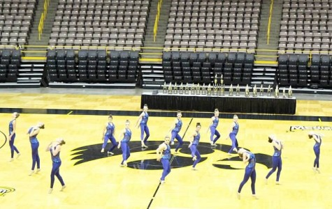 Dance team opens their competition season