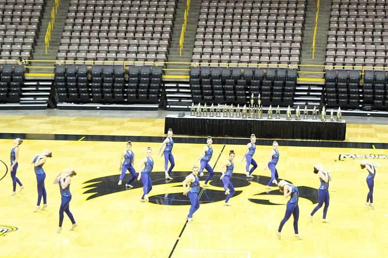 The Kennedy dance  team placed first last weekend at the Spirit Spectacular.
