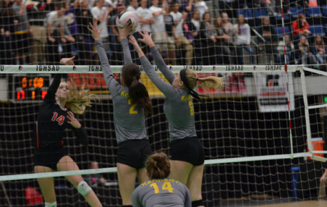 Photos: Volleyball takes on the Cell