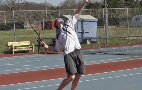 Kennedy vs. Washington Men's Tennis Meet: Photo Story