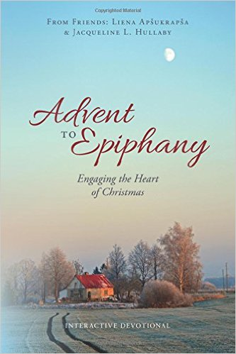 Book Cover of Advent to Epiphany. Photo provided by Olivia Haefner