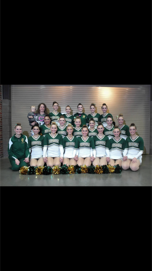 Dance+team+in+their+pom+uniforms