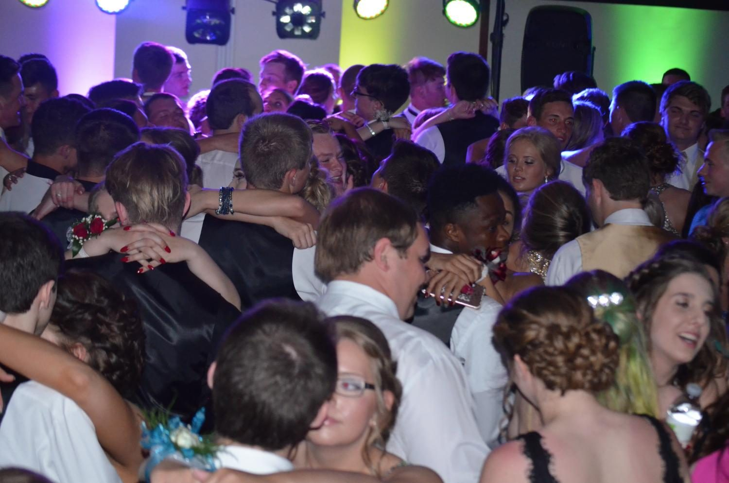 Kennedy Students slow it down at prom.