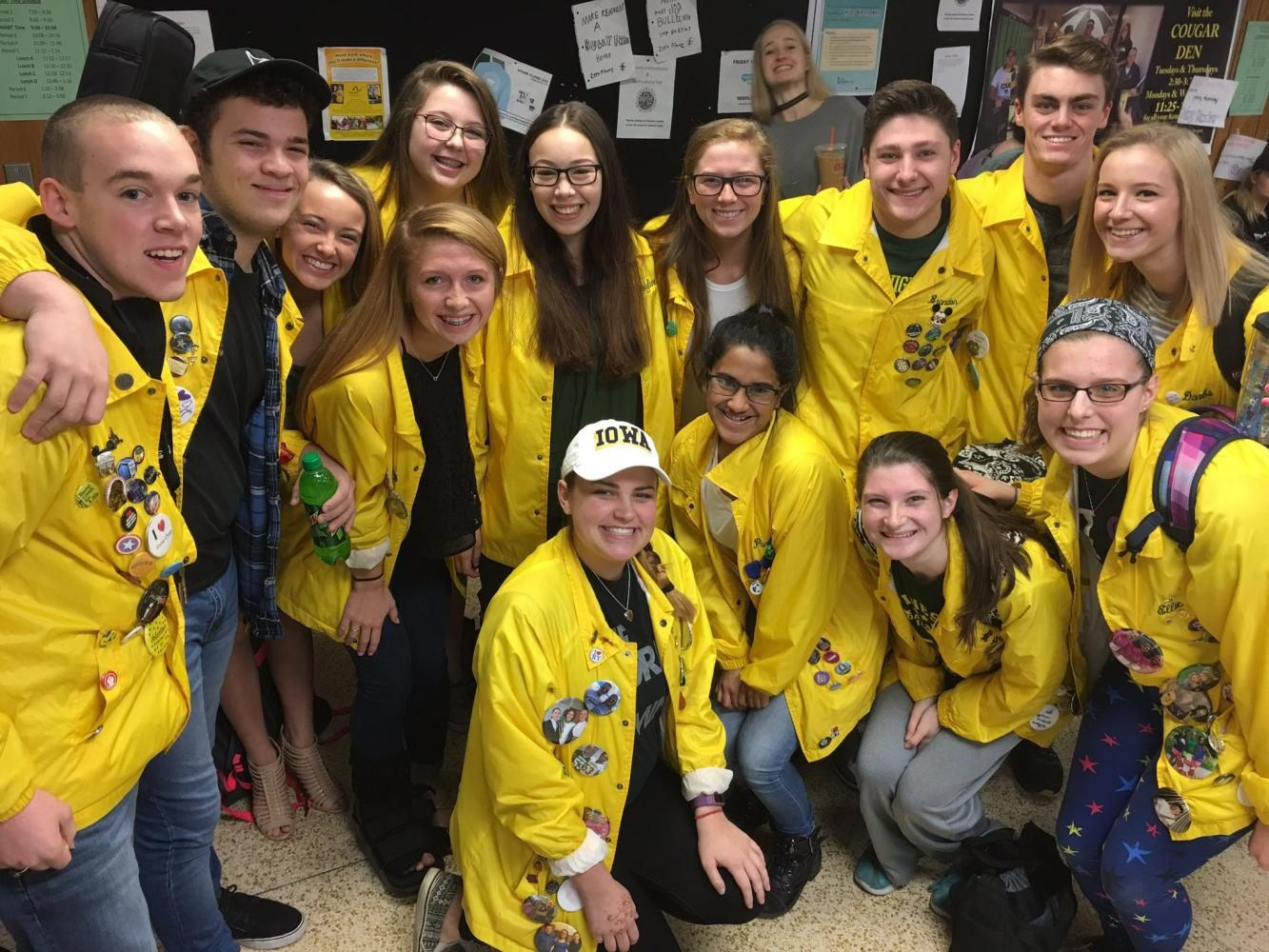 Happiness Show Choir presented Joyline with an official jacket.
