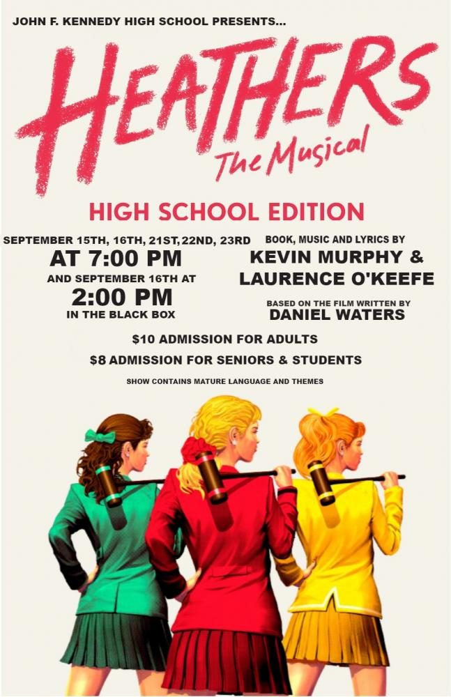 Heathers The Musical: Preview