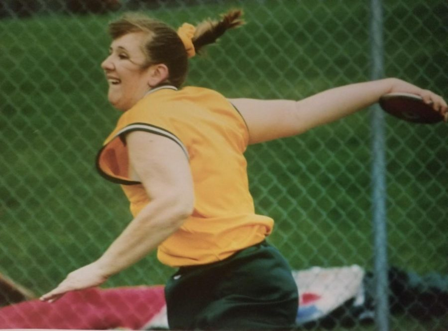 Kennedy graduate Devin Larrimore broke the school record in the spring of 1999 with a throw of 137 feet and 10 inches.