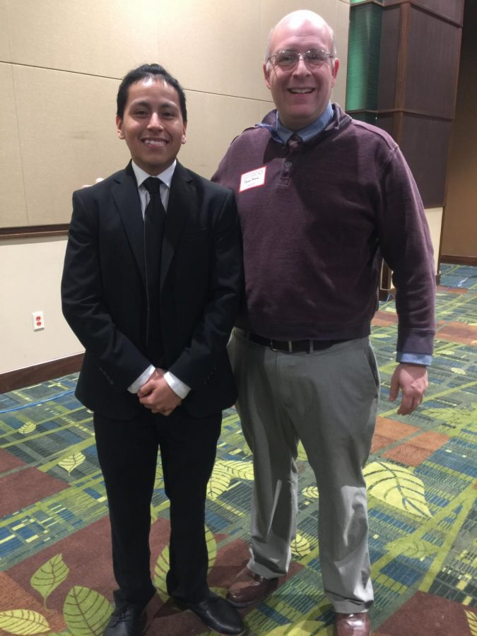 Jose Juarez and Jason Kline at the Luncheon