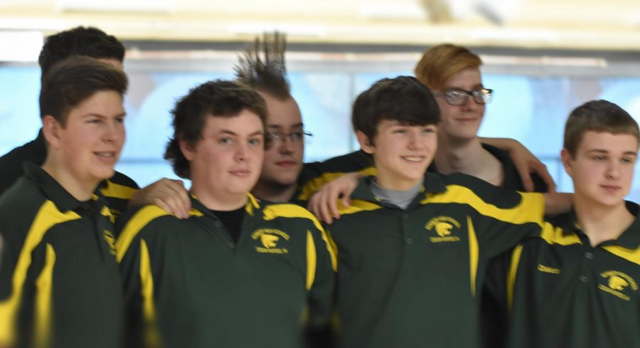 Kennedy Men's Bowling state qualifier team.