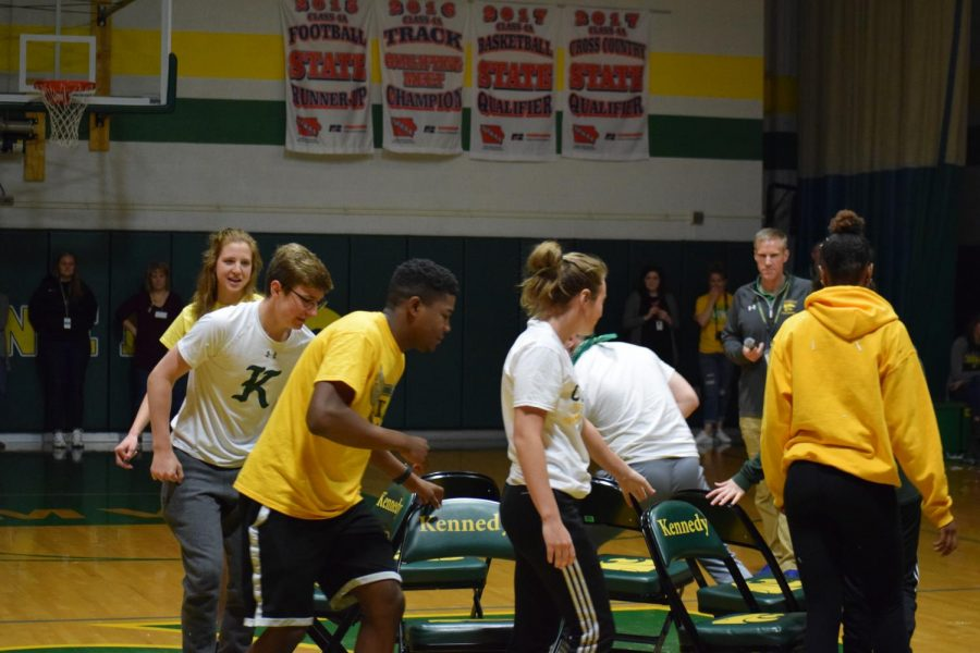 Senior representatives from every sport battle to see who will win musical chairs.