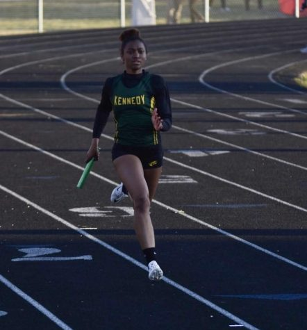 Weather Holds Back Girls' Track