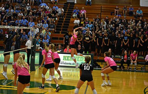 Dig Pink Volleyball Match vs. Jeff