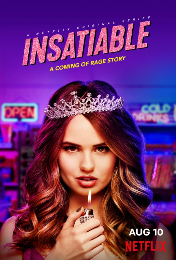 Netflix's official poster for Insatiable.
