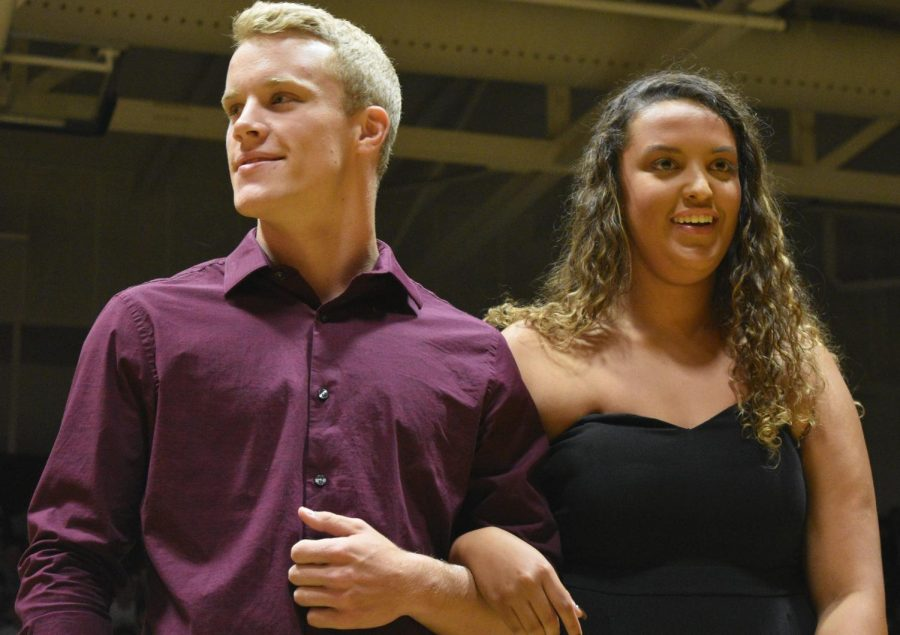 Homecoming candidates Will Stecker and Kendal Runels.