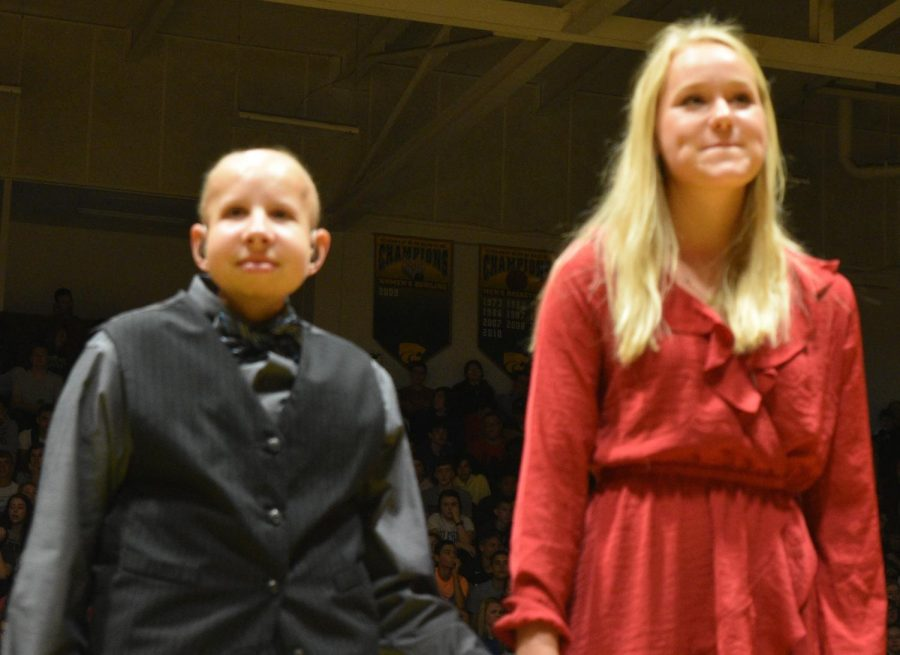 Homecoming candidates Jackson Hoeger and Grace Walker.