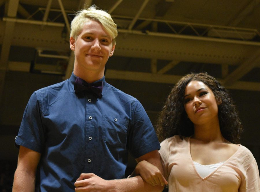 Candidates Reese Manternach and Jaianna Green.