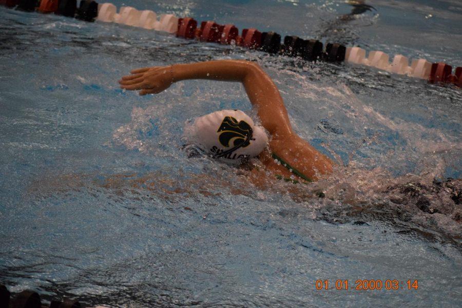 Junior Taylor Scallon, freestyle.