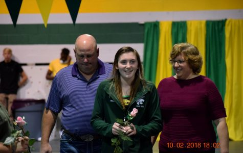 Volleyball and Swimming: Senior Night