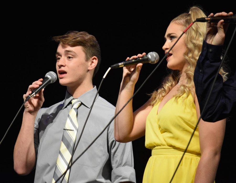 Senior Jacob Kiesey and Lauren Beer, Moonlight Express.
