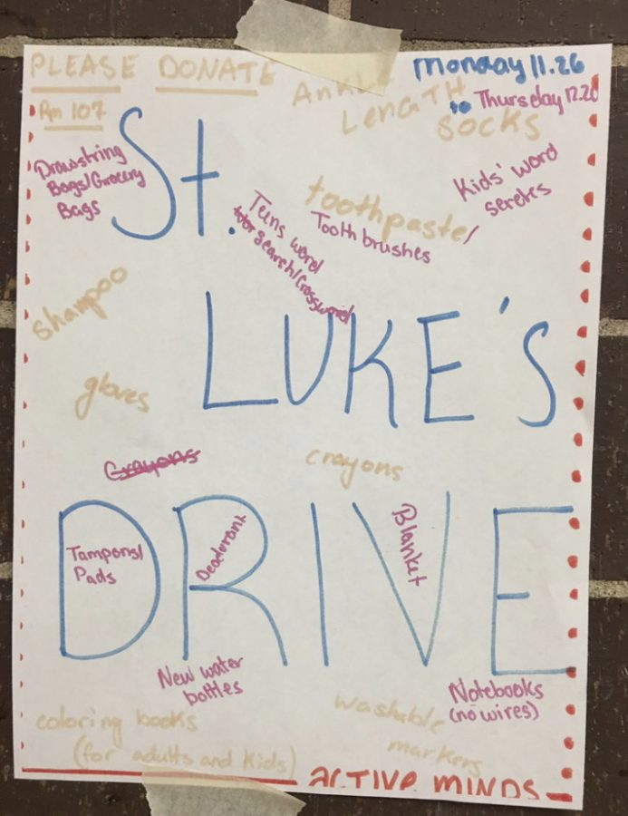 Poster+for+the+St.+Luke%27s+drive%2C+containing+the+items+that+are+needed+for+the+cause.