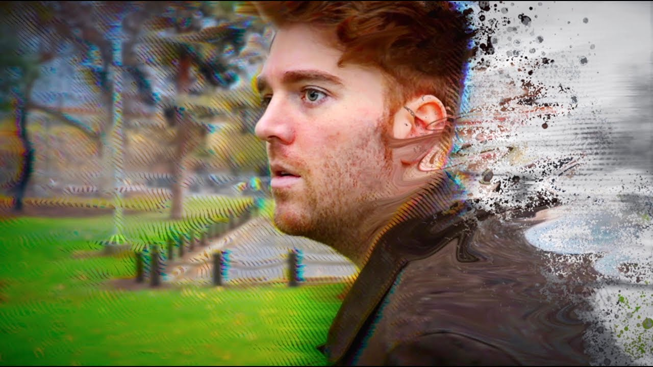 The thumbnail from Shane Dawson's latest YouTube video.