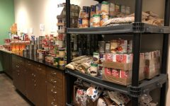 Cougar Pantry, the resource that Kennedy offered to students who needed or wanted  food to take home.