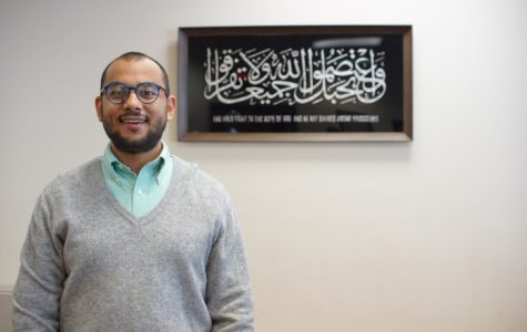 Imam Hassan Selim, prayer leader at the Islamic Center of Cedar Rapids.