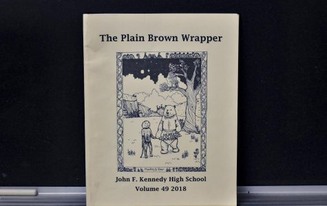 Photo of last year's copy of the Plain Brown Wrapper.