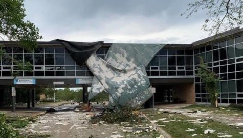 Jefferson High School and several other buildings within the CRCSD sustained  heavy damage causing students to move their learning online for this 2020 school year