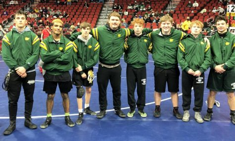 Kennedy wrestling is prepared to hit the mat at the state meet.