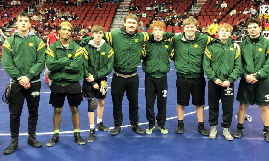 Kennedy+wrestling+is+prepared+to+hit+the+mat+at+the+state+meet.