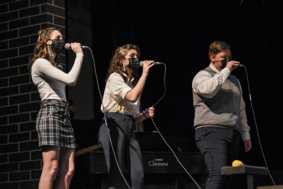 Moonlight Express members sing Goodbye Yellow Brick Road.