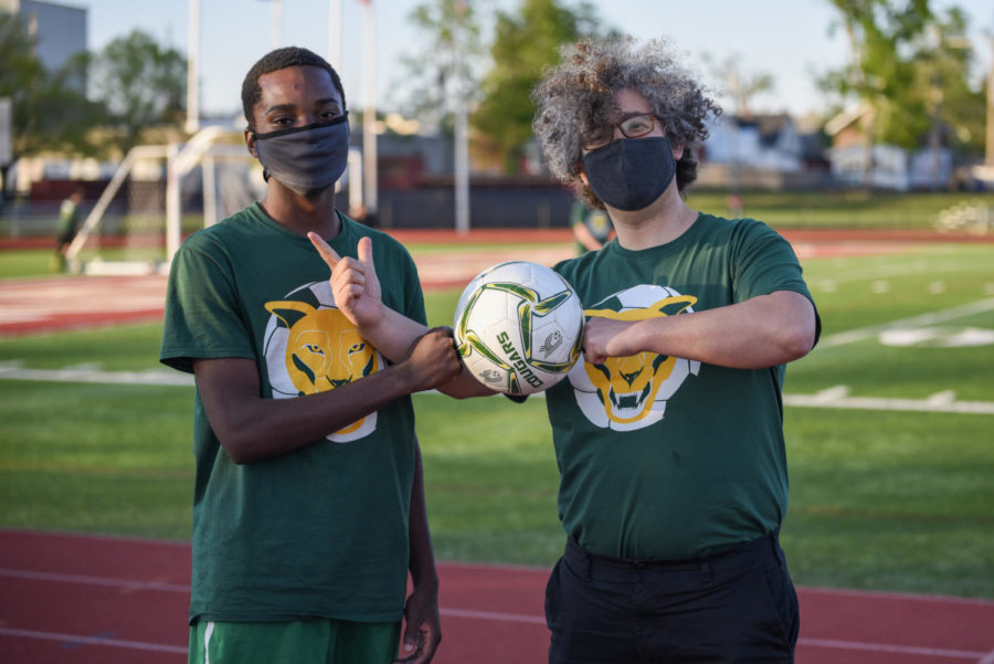 Photos: Teachers Recognized at Boys Soccer Game