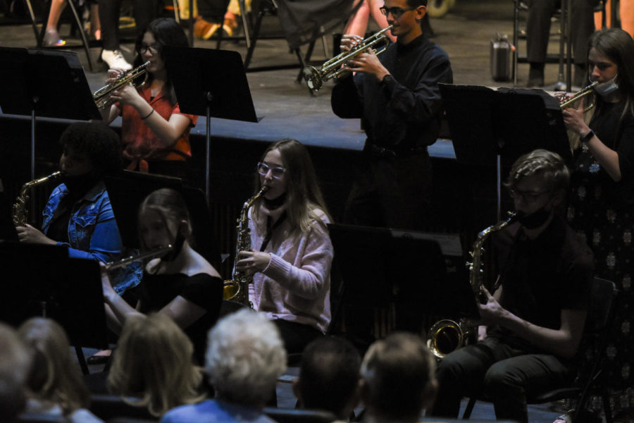 """Jazz Two performs """"Funk Zone"""" and  """"The Black Cat"""" by Doug Beach and George Shutack."""